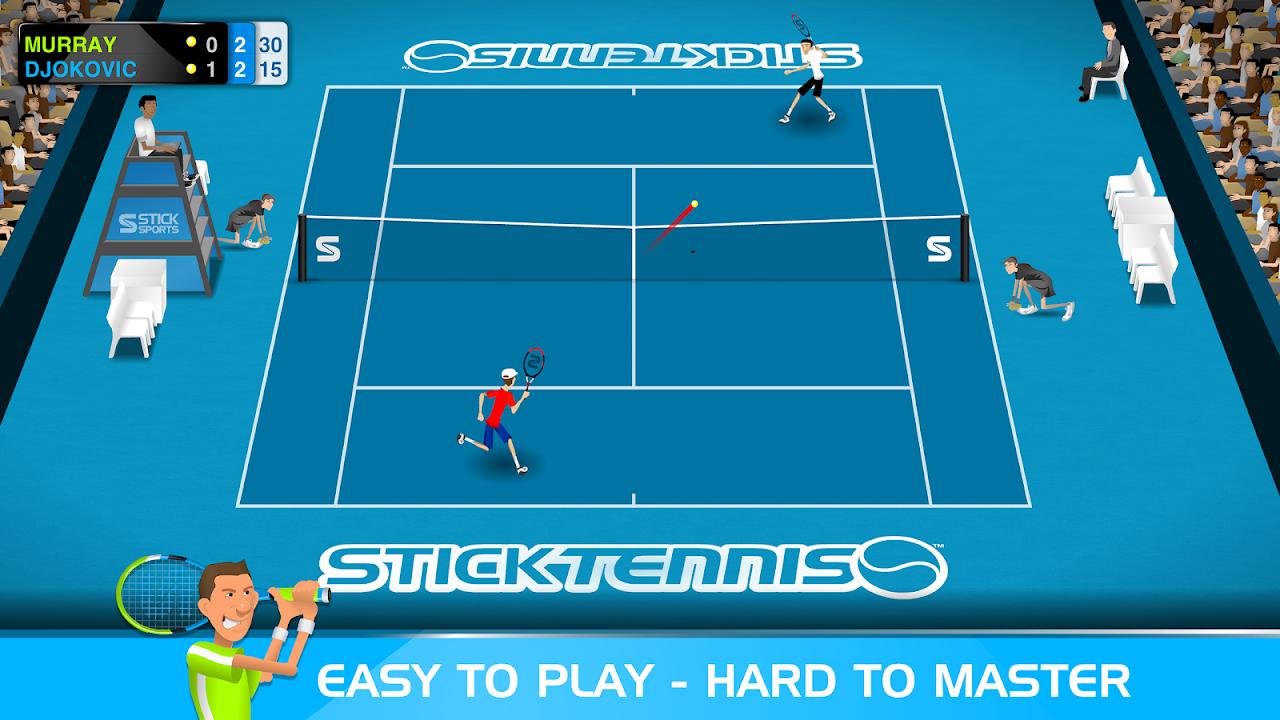 Stick Tennis screenshot 1