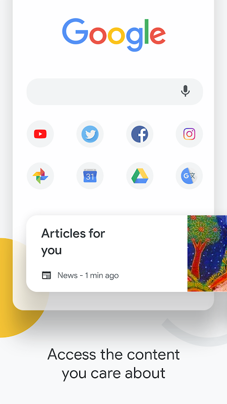 Chrome Browser – Google screenshot 1