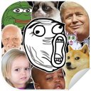 😂Meme Stickers for WAStickerApps