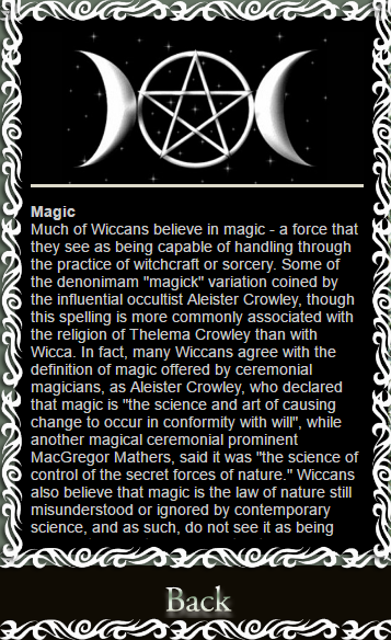 where do wiccans meet the press