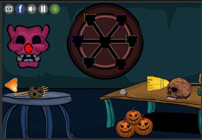 new escape games 187 halloween party 2017 screenshot 6