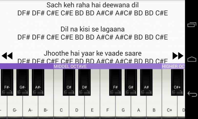 A To Z Piano Notes 11 0 Download APK for Android - Aptoide