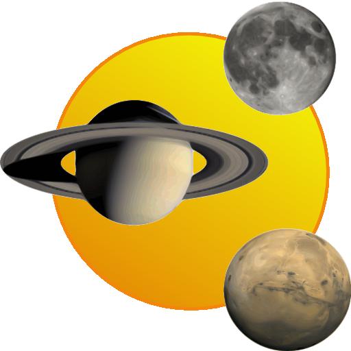 Sol, lua e planetas