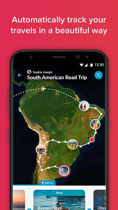 Polarsteps - Travel Tracker screenshot 1