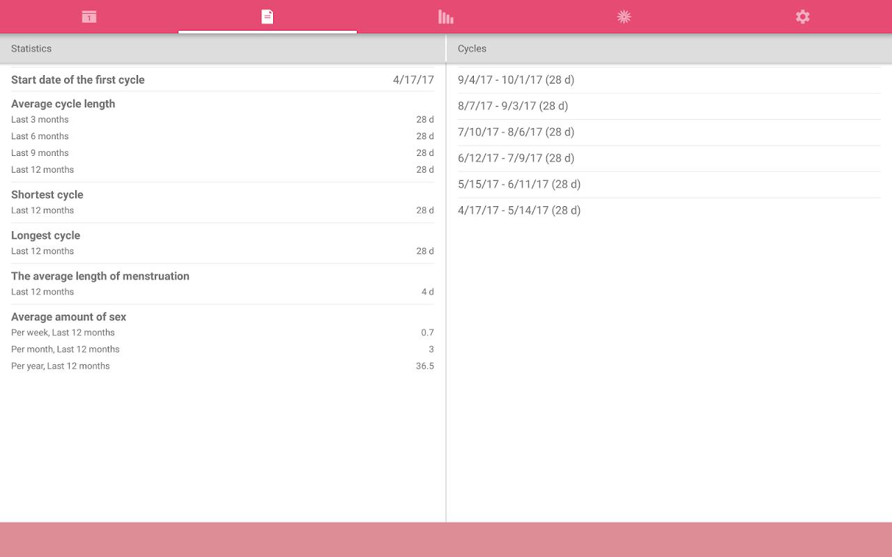WomanLog Period Tracker & Calendar screenshot 10
