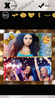 Sparkle Photo Collage screenshot 7