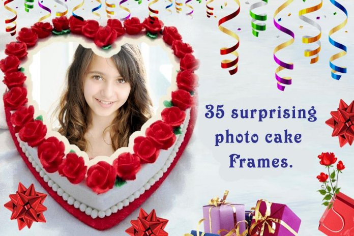 Birthday Cake Photo Frame Screenshot 1 2