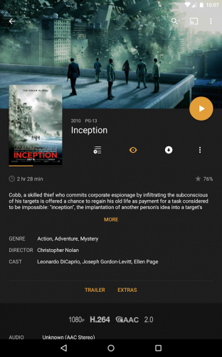 Plex: Stream Movies, Shows, Music, and other Media screenshot 10