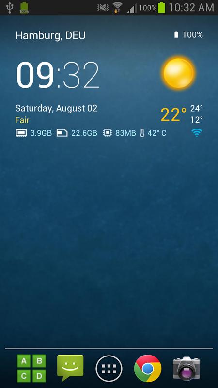 Relógio transparente e tempo (Ad-free) screenshot 2