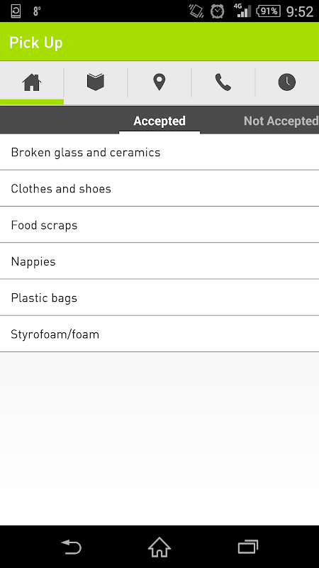 get sorted™ | Waste App For Australian Residents screenshot 2