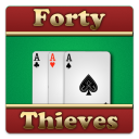 Forty Thieves Cards