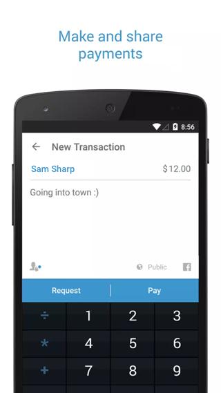 Venmo Mobile Wallet: Send & Receive Money screenshot 1