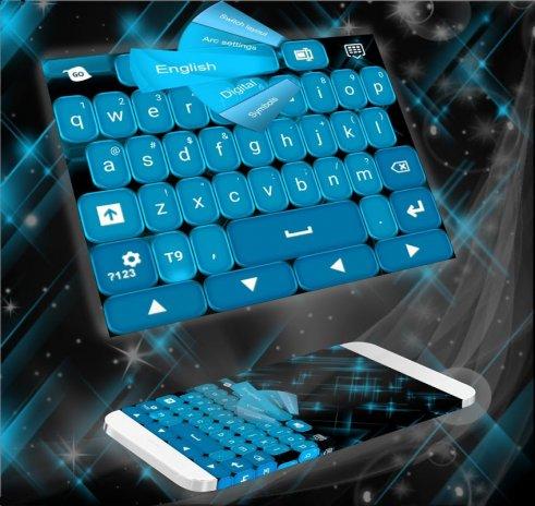 Blue Fancy Keyboard Theme 1 279 13 93 APK دانلود برای اندروید - Aptoide