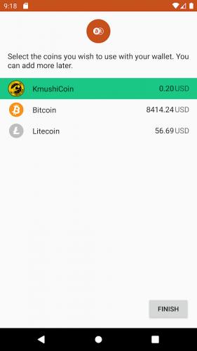 Kmushicoin Wallet screenshot 5
