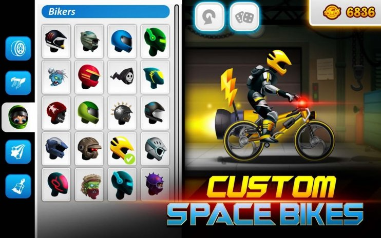High Speed Extreme Bike Race Game: Space Heroes 3 62