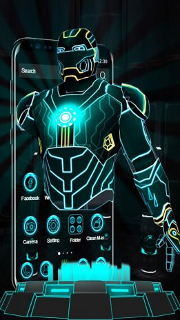 3D Neon Hero Theme 1 1 4 Download APK for Android - Aptoide
