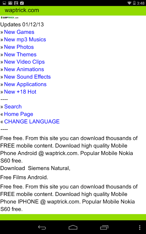 WAPTRICK 5 0 4 Download APK para Android   Aptoide
