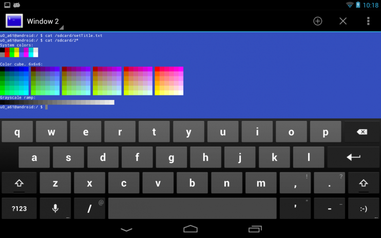 Terminal Emulator for Android 1 0 70 Download APK for Android - Aptoide