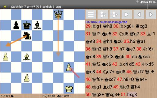 Chess Engines Play Analysis screenshot 6