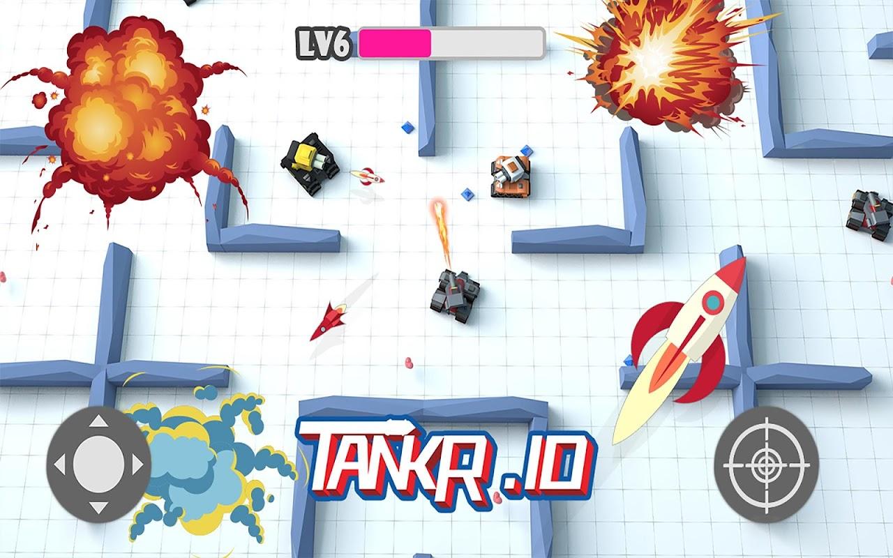 Tankr.io - Tank Realtime Battle screenshot 4