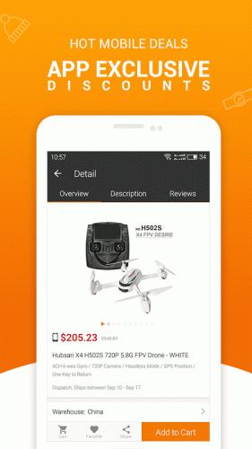 Compras Online da Gearbest screenshot 5