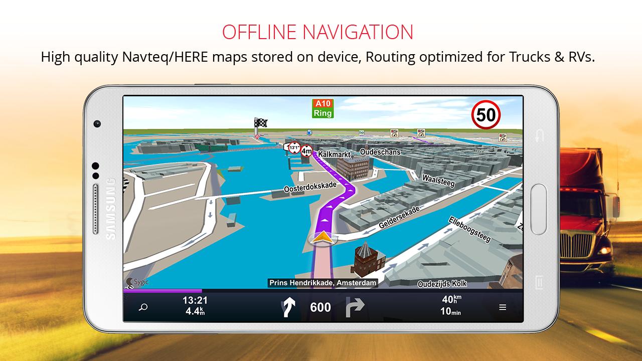 Sygic Truck GPS Navigation 13.9.9 Android APK Herunterladen ...
