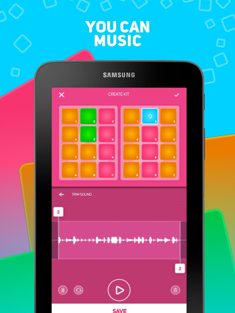 SUPER PADS - your beat maker DJ app! screenshot 1