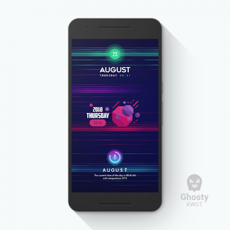 Ghosty KWGT 1 1 5 Download APK for Android - Aptoide
