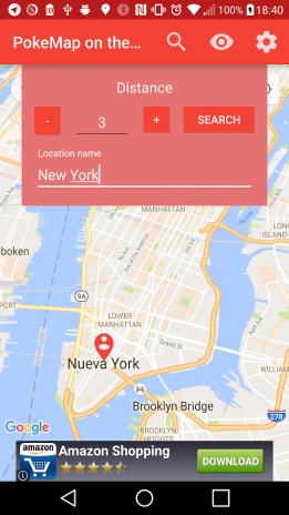 PokeMap on the Go 1 4 2 Descargar APK para Android - Aptoide