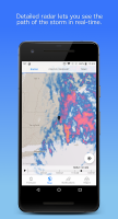 Dark Sky - Hyperlocal Weather Screen