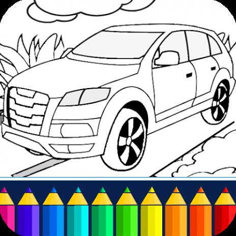 Mobil Mewarnai Permainan 9 2 4 Unduh Apk Untuk Android Aptoide