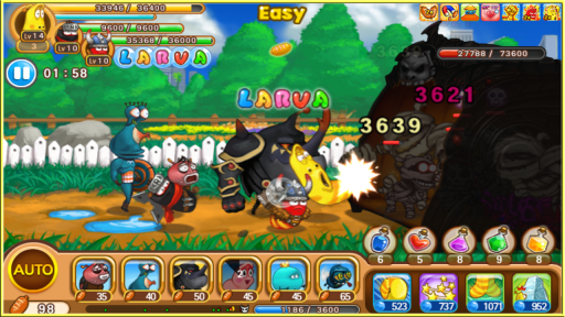 Larva Heroes2: Battle PVP screenshot 7