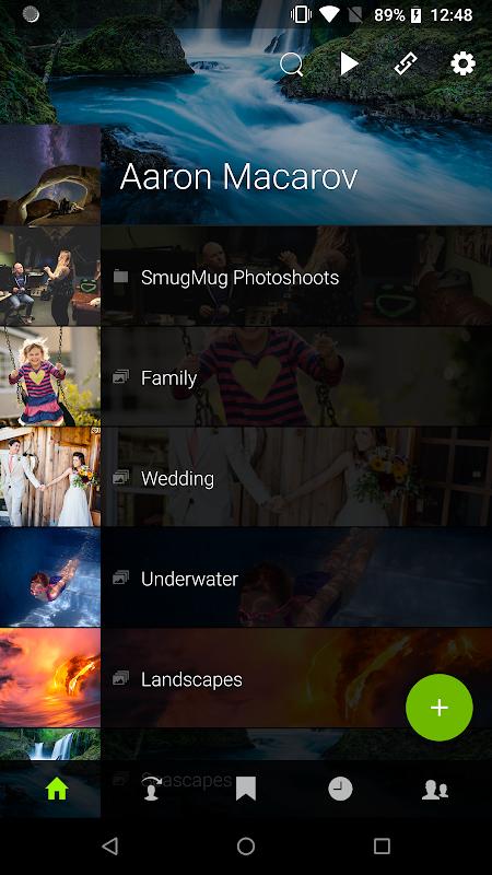 SmugMug screenshot 1