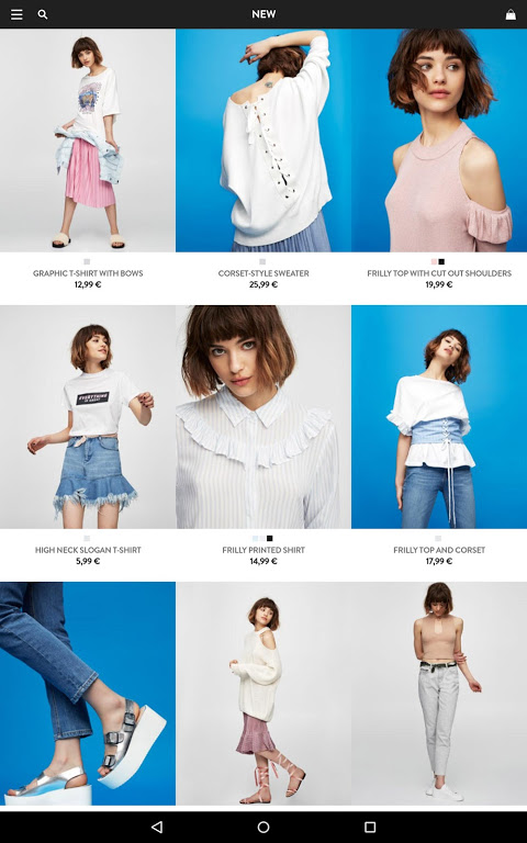 PULL&BEAR screenshot 2