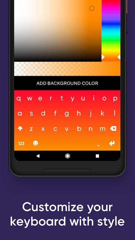 Fleksy: Fast Keyboard + Stickers, GIFs & Emojis screenshot 6