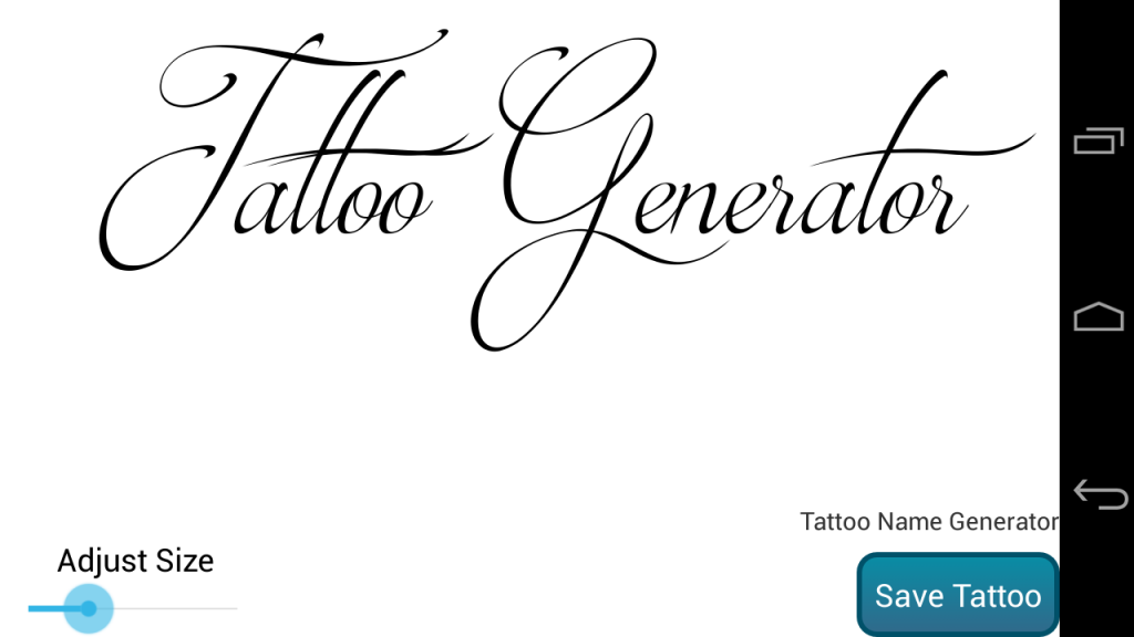 tattoo name design generator download apk for android