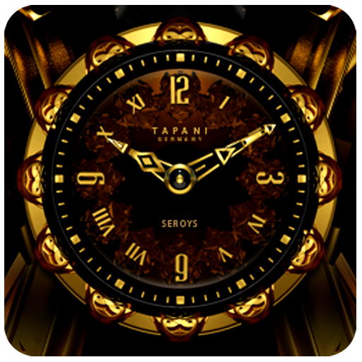 SEROYS Luxury Clock Widget