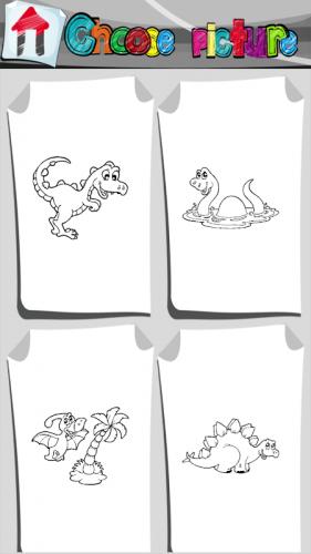 Dinozor Boyama Kitabi 1 4 Android Apk Sini Indir Aptoide