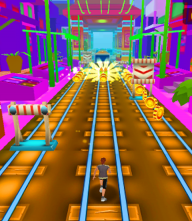 Train Surf Subway Endless Run Fun screenshot 2