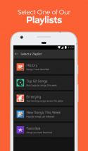 SoundHound Music Search & Play Screenshot