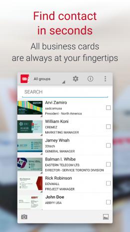 Business card reader free 41009 baixar apk para android aptoide business card reader free captura de tela 3 reheart Gallery