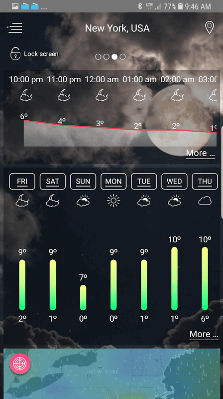 Weather - unlimited & realtime weather forecast screenshot 2