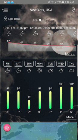Weather - unlimited & realtime weather forecast 1 6