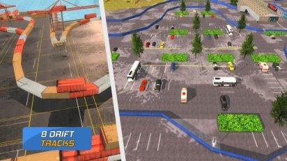 Police Drift Car Driving Simulator v 1.1 (Mod Money) 2