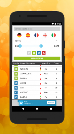 Calendario Euroleghe Fantagazzetta.Euroleghe Fantagazzetta Release V1 5 1 Download Apk For