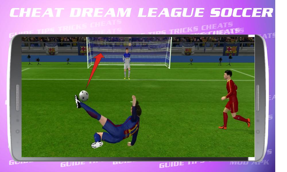 Cheats for Dream League Soccer 2017 screenshot 3