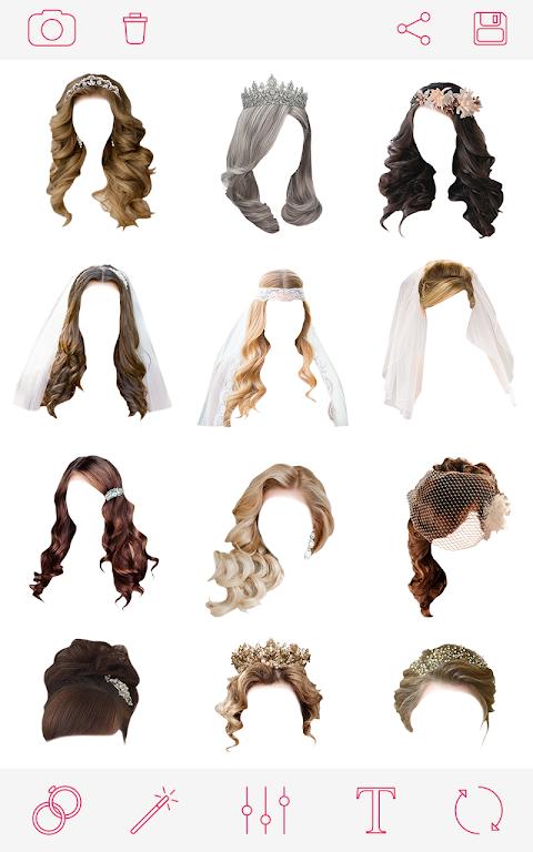 Penteados para casamento 2018 - Wedding Hairstyles screenshot 2
