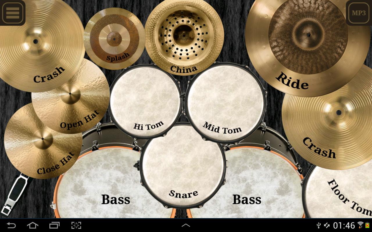 Drum kit (Drums) free screenshot 1