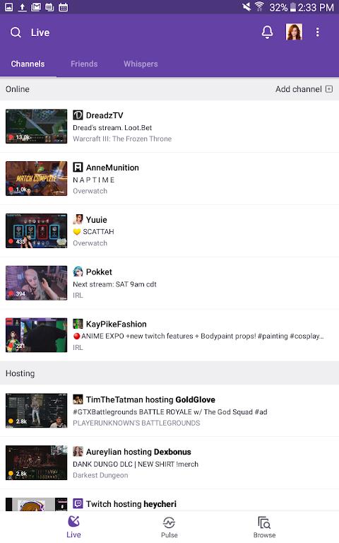 Twitch screenshot 2