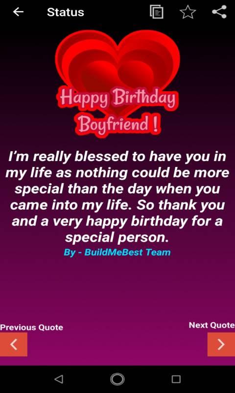 birthday wishes for boyfriend bf greeting cards apk